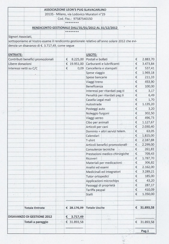 BILANCIO 2012 PAG 1